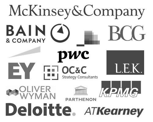Kentley Insights Clients - Consulting Firms, McKinsey, Bain, BCG